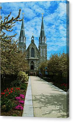 St Thomas Of Villanova Canvas Print
