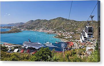 St Thomas Panorama Canvas Print by George Oze