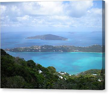 St-thomas Virgin Islands Usa Canvas Print