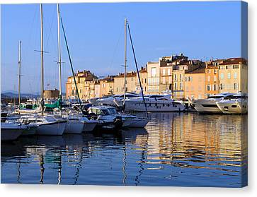 St. Tropez - France Canvas Print by Haleh Mahbod