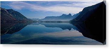 St. Wolfgangsee And Alps Salzkammergut Canvas Print