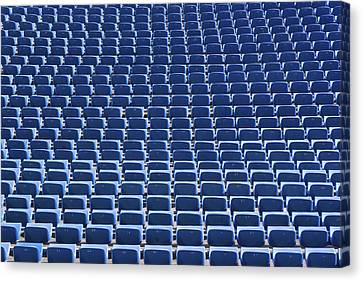 Stadium - Seats Canvas Print