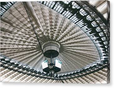 Stadium Ceiling Canvas Print by Pati Photography