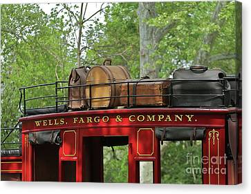 Coach Canvas Print - Stage Coach by Rick  Monyahan