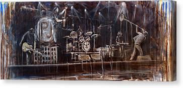 Stage Canvas Print by Josh Hertzenberg