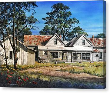 Stage Stop In Cresson Tx Canvas Print