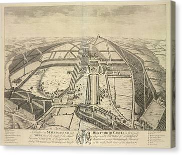 Stainborough And Wentworth Canvas Print by British Library
