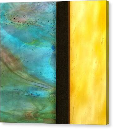 Stained Glass 1 Canvas Print by Tom Druin