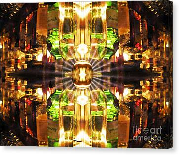 Stained Glass Canvas Print by Dana Haynes