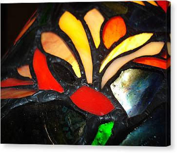 Stained Glass Five Canvas Print
