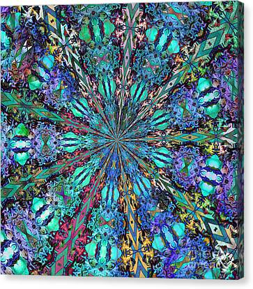 Canvas Print featuring the photograph Stained Glass by Geraldine DeBoer