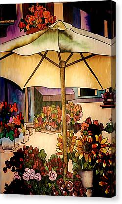Stained Glass Italy Canvas Print by Paulette Thomas