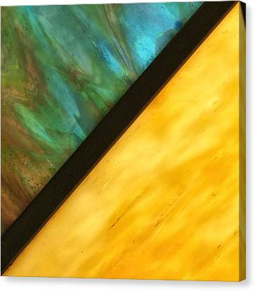 Stained Glass Canvas Print by Tom Druin