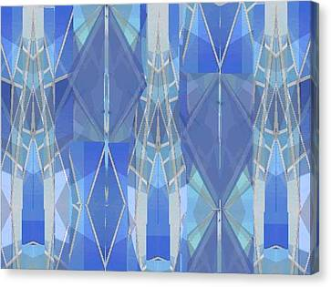 Stained Glass Canvas Print by Vickie G Buccini