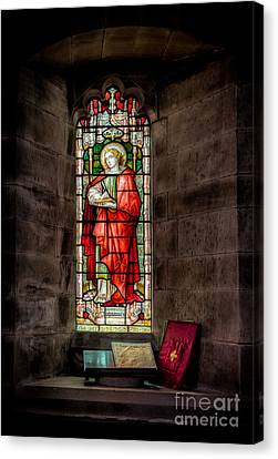 Stained Glass Window 2 Canvas Print