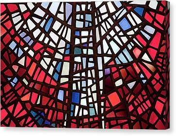 Stained Glass Windows Canvas Print