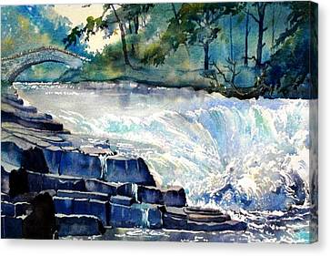 Stainforth Foss Canvas Print