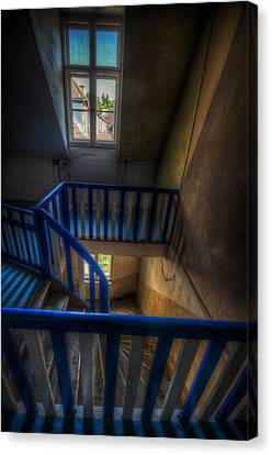 Staircase Blues  Canvas Print by Nathan Wright