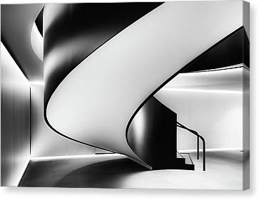 Pov Canvas Print - Staircase by Darren Kelland