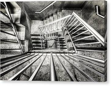 Staircase I Canvas Print by Everet Regal