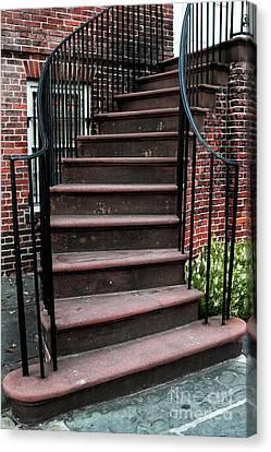 Staircase Canvas Print by John Rizzuto