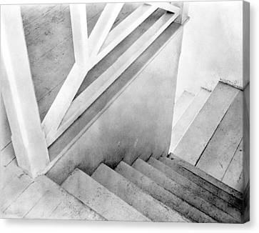 Staircase, Mexico City, C.1924 Canvas Print by Tina Modotti