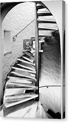 Staircase - Spiral Canvas Print by Robert Culver