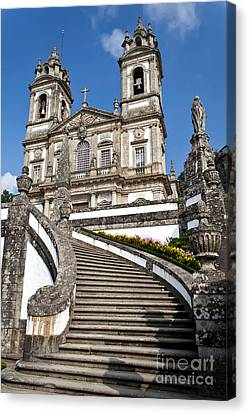 Staircase To Heaven Canvas Print by Jose Elias - Sofia Pereira