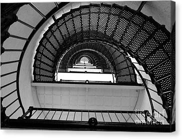 Canvas Print featuring the photograph Stairs by Andrea Anderegg