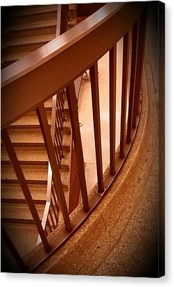 Stairs Around Canvas Print