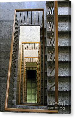 Stairs Canvas Print by Ausra Huntington nee Paulauskaite