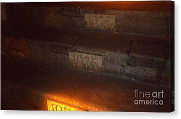 Stairs In Reims Canvas Print
