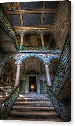 Stairs Of Beauty Canvas Print by Nathan Wright