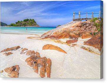 Redang Canvas Print - Stairs To Paradise  by Mario Legaspi