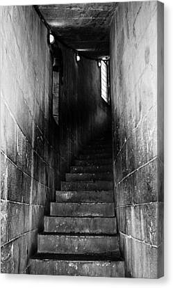 Stairway  Canvas Print by Steven  Taylor