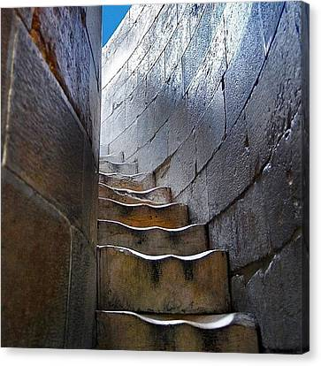Stairway To... Canvas Print by Carlos Alkmin