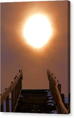 Stairway To Heaven Canvas Print by Dan Sproul