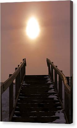 Stairway To Heaven In Ohio Canvas Print
