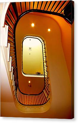Stairway To Heaven Canvas Print by Karen Wiles