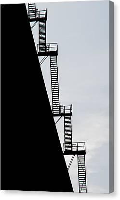 Stairway To Heaven Canvas Print by Tikvah's Hope