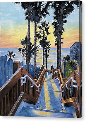 Grandview Canvas Print - Stairway To Paradise by Andrew Palmer