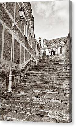 Stairway To Salvation  Canvas Print by Olivier Le Queinec