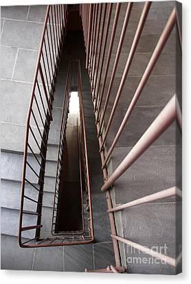 Stairwell Canvas Print by Bernard Jaubert