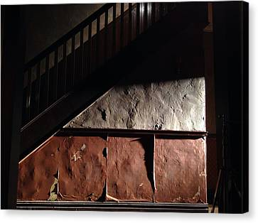Stairwell Canvas Print by H James Hoff