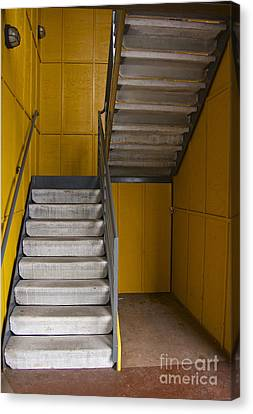 Stairwell Canvas Print by Sean Griffin