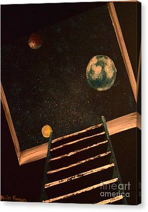 Stairwell To Heaven Canvas Print