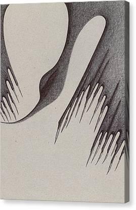 Stalactites Overhead Canvas Print by Giuseppe Epifani