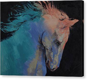 Stallion Canvas Print by Michael Creese