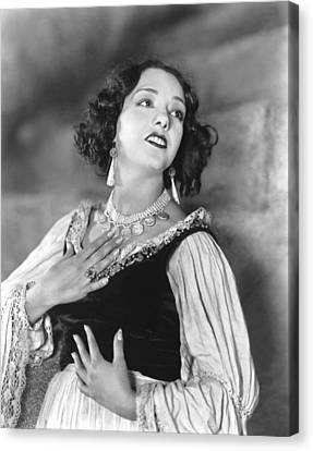Stand And Deliver, Lupe Velez, 1928 Canvas Print by Everett