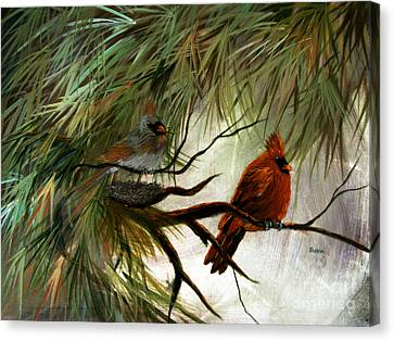 Stand By Me Canvas Print by Sharon Burger